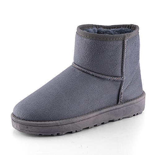 Boots Grey Warm Boots Warm Women Grey Warm Women wPUq8