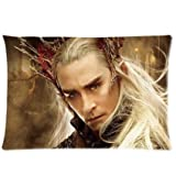 Ur pillowcase Hot Sale Custom Thranduil Lee Pace Zippered Pillow Case 16x24 (Twin Sides Print)