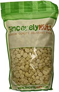 Macadamia Nuts Raw Unsalted Halves and Pieces,2Lbs