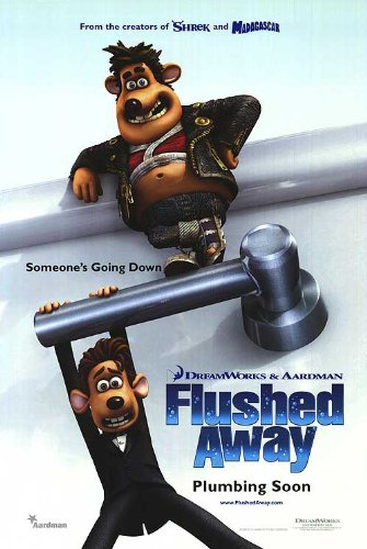 (Flushed Away Original 27 X 40 Theatrical Movie Poster)
