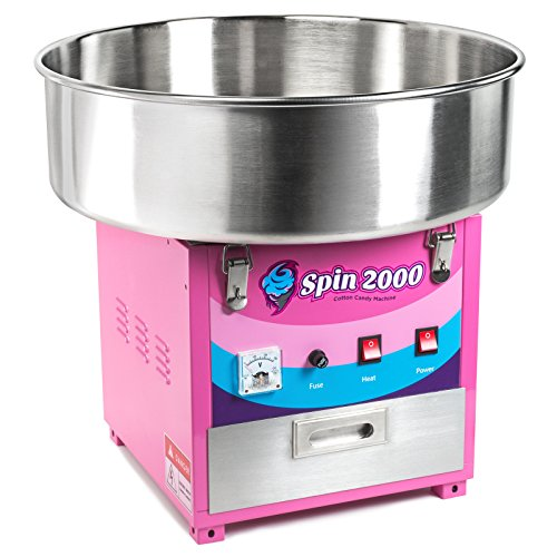Check Out This Olde Midway Commercial Quality Cotton Candy Machine and Electric Candy Floss Maker - ...
