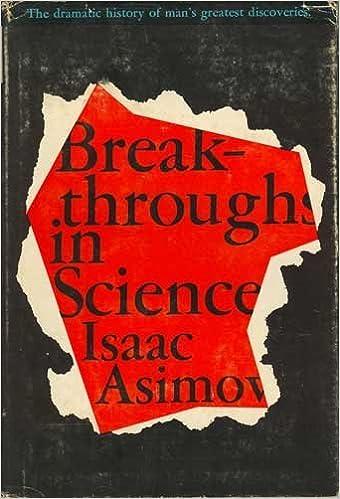 Breakthroughs in Science: