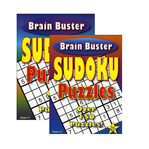 DollarItemDirect Brain Teaser Sudoku Puzzle Book, Case of 48 by DollarItemDirect