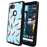 Google Pixel 2 XL Red Hot Peppers Cell Phone Case (2017) [6-Inch]