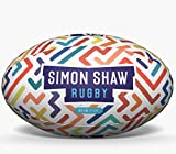 Rugby Ball Neon Flex - Size 5 - Ultimate Rugby Balls By Simon Shaw