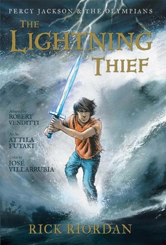 The Lightning Thief: The Graphic Novel (Percy Jackson & the Olympians, Book 1) [Rick Riordan - Robert Venditti] (Tapa Blanda)