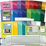 Cricut Explore Air 2 Machine Bundle - Tools, Pens, Vinyl Pack, Designs & Project Inspiration