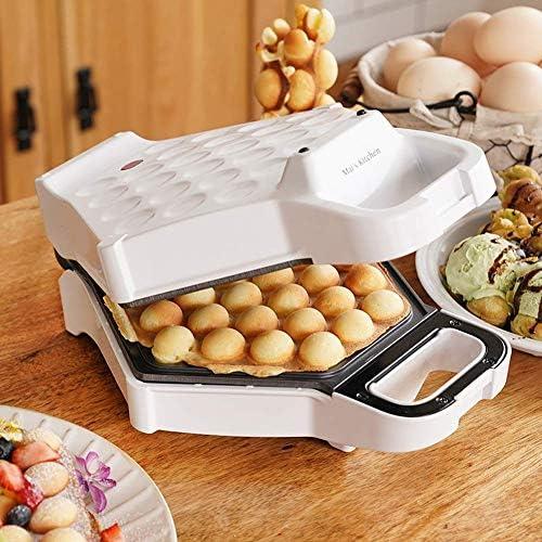 Gpzj Gaufrier électrique à Bulles, Cornet de crème glacée pour gâteau aux œufs, Petit-déjeuner Rapide, Dessert antiadhésif Plat de Cuisson Cuisine Cadeau de Cuisine