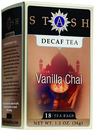 - Chai Vanilla Tea Decaf 18 Bags