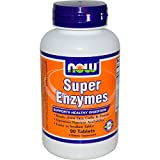 Cheap NOW Super Enzymes, 90 Tablets (Pack of 2)