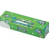 驚異の防臭袋 BOS (ボス) 生ゴミが臭わない袋 生ゴミ処理袋【袋カラー:白】 (Sサイズ 100枚入)