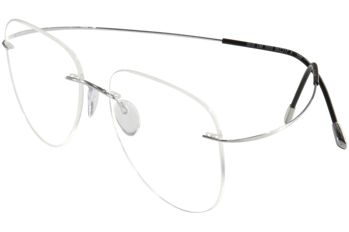 Amazon.com: Silhouette Eyeglasses TMA Must Collection Chassis 5515 ...