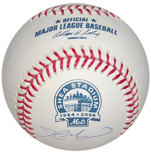 (JOHN MAINE SIGNED SHEA STADIUM FINAL SEASON NEW YORK METS STEINER COA MLB HOLO)
