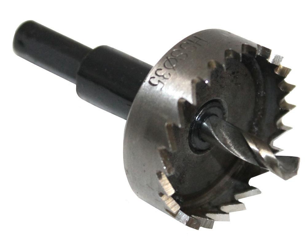 Aerzetix: Scie trépan HSS à cloche 35mm 3800946222170