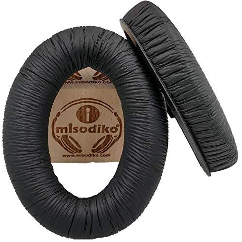 misodiko Replacement Cushions Ear Pads- for Sennheiser HD598/ HD515/ HD518/ HD595/ HD380PRO/ HD 380 PRO/ PC350/ PXC450/ PXC350/ Game One/Game Zero/ HD599 / HD569 / HD579, Headphones Repair Earpads