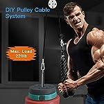 Fitness-Pulley-Cable-System-Pulley-System-Gym-Bicipiti-E-Tricipiti-Avambraccio-Polso-Trainer-Braccio-Twisted-Pull-Down-Rope-Con-Maniglie-E-Perno-Di-Carico-Home-Esercizio-Allenamento-Accessori