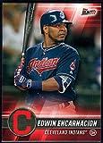 2017 Topps Bunt #180 Edwin Encarnacion Cleveland Indians Baseball Card