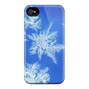 Premium [AKi26115Oxnf]snowflakes Iii Cases For Iphone 6- Eco-friendly Packaging