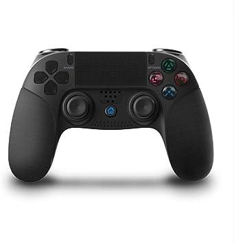 Mando compatible con PS4, mando inalámbrico, mando de mando a distancia para Playstation 4 con cable USB-PAWHITS: Amazon.es: Electrónica