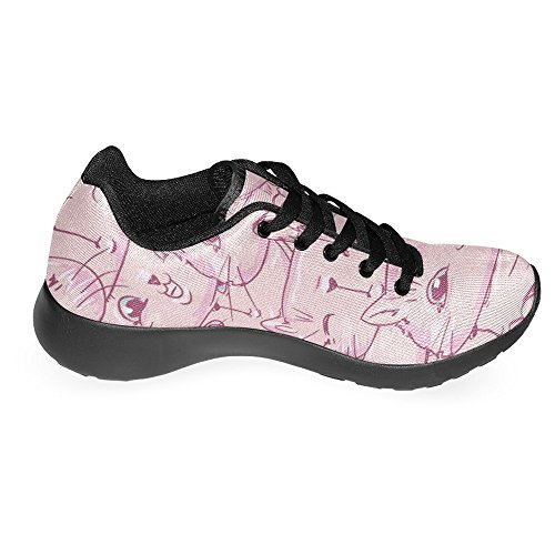 Interestprint Femmes Jogging Running Sneaker Léger Aller Facile À Pied Casual Confort Sportif Chaussures De Course Multi 36
