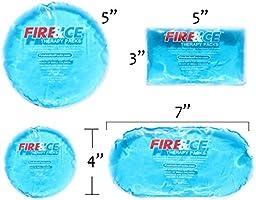 Caliente frías 7 grande y pequeño Combo Set con respaldo de gamuza ...