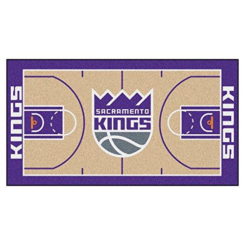 Fanmats Home Indoor sports Team Logo Sacramento Kings NBA Large Court Runner Mat 30