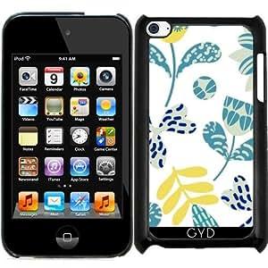 Funda para Ipod Touch 4 - Patrón Floral by Luizavictorya72