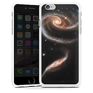 Carcasa Design Funda para Apple iPhone 6 silicona case blanco - Galaxienrose