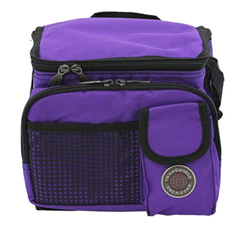 (Transworld Durable Deluxe Insulated Lunch Cooler Bag (Many Colors and Size Available) (9