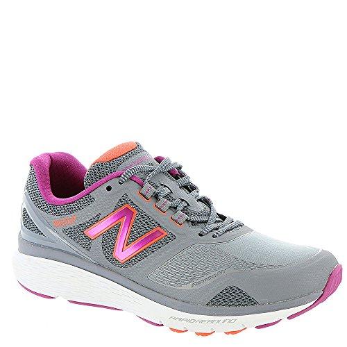 New Balance Women's 1865v1 Trail Walking Shoe, Grey/Silver, 7 D US