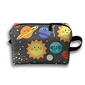 Aloha Solar System Toiletry Bag Travel Cosmetic Dopp Kit Tactical Bag Accessories Cosmetic Makeup Case