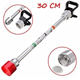 Pukido 30cm Airless Paint Sprayer Gun Tip Extension Rod For Wagner Titan With Tip Guard