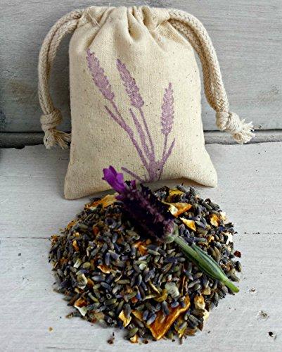 Herb Favor - Lavender Citrus Sachets | Aromatherapy Favor Sachets | Sachet Bags | Scented Sachets | Wedding Favor | Scented Drawer Sachets | Herb Sachet