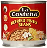 La Costena Refried Pinto Beans, 14.1 Ounce (Pack of 12)