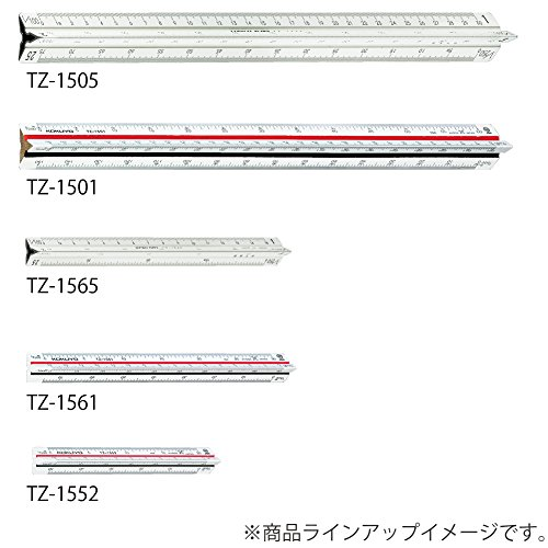 TZ-1561 triangular scale plastic core 15cm (japan import) by Kokuyo Co., Ltd. (Image #5)