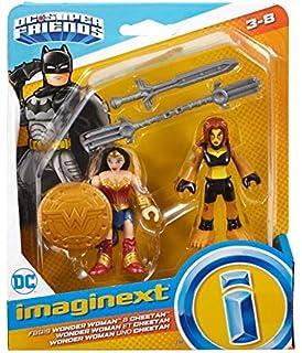 X7648 Imaginext DC Super Friends Superman /& Wonder Woman NEW