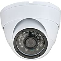 GW Security 2.1 Megapixel 1080p Sony CMOS 4-in-1 HD TVI / AHD / CVI / 960H 1200TVL CCTV Dome Security Camera Built-In Microphone, Audio Recording
