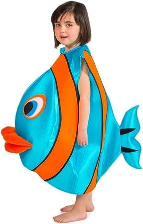 Disfraces Nines - Disfraz de pez, infantil 1-3 años: Amazon.es ...