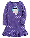 Carter's Girls' 4-14 Microfleece Sleep Gown M (6/7)