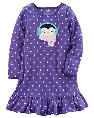 Carter's Girls' 4-14 Microfleece Sleep Gown M (6/7) by Carter's