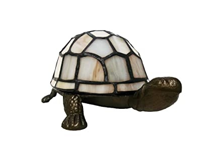 Tiffany style cream tortoise turtle table lamp amazon lighting tiffany style cream tortoise turtle table lamp mozeypictures Gallery