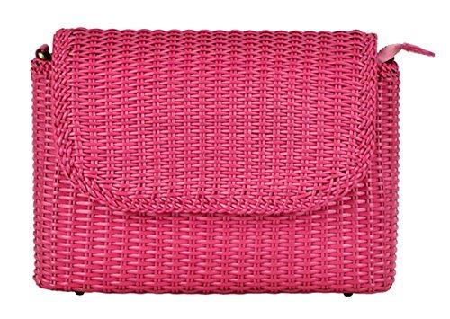 Insun - Sacs à bandoulière pour femmes roses