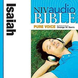 NIV Audio Bible, Pure Voice: Isaiah Audiobook