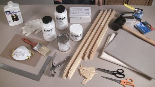 Stretching & Priming Your Canvas (2011)