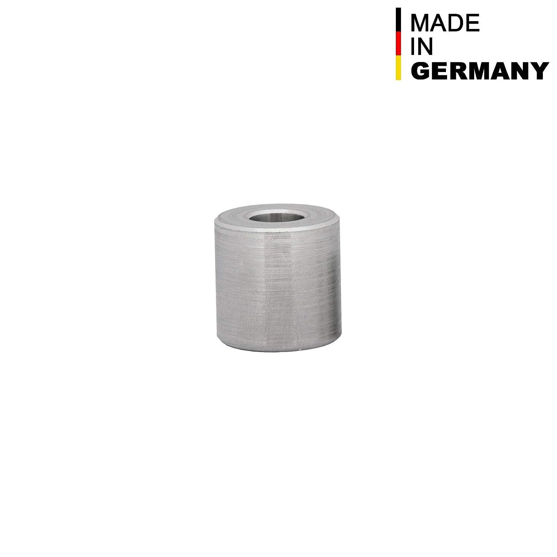 FASTON Aluminium Distanzh/ülsen M8 /Ø innen 8,5 mm H/ülsen Abstandsh/ülsen Buchse Distanzbuchsen Abstandsbuchsen Schildhalter /Ø Au/ßen 20 mm L/änge 5 mm 4 St/ück