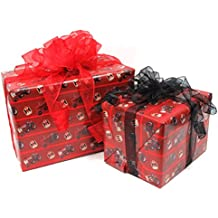 International Harvester Wrapping Paper Red
