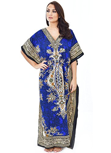 Femme Collection Robe Roi Bleu Nightingale gEH6n46