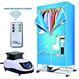 Bairuifu Portable Ventless Clothes Dryer with Heater Intelligent...