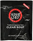 baycliff sushi chef - Sushi Chef Clear Soup, 0.33-Ounce Packages (Pack of 12)