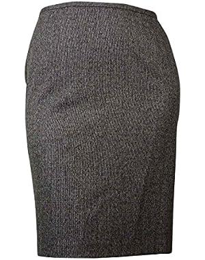 Calvin Klein Women's Tweed Pencil Skirt